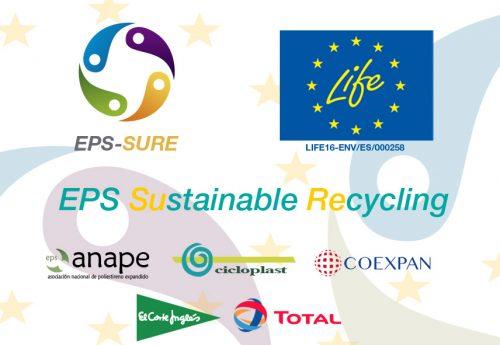 La CE premia el proyecto de reciclaje EPS SURE